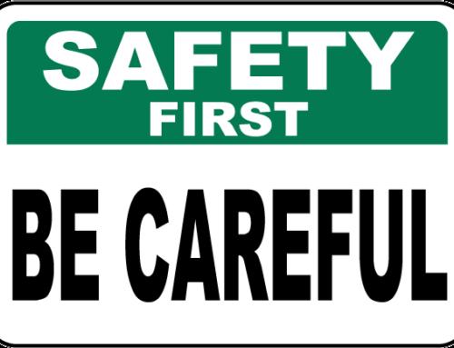 Fortsatt ökad försiktighet